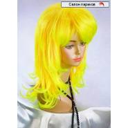 Волнистый цветной парик 3285