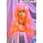 Длинный волнистый цветной парик 91119