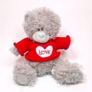 Плюшевый мишка Джон I love you – 20 см