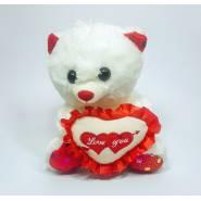Плюшевый медведь Rebekka I love you – 20 см