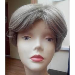 Натуральный парик с моновставкой 81049 MT