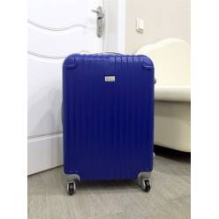 Пластиковый чемодан Ananda APL-833-BLUE-S Синий