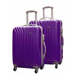 Пластиковый чемодан Ananda APL-622 фиолетовый
