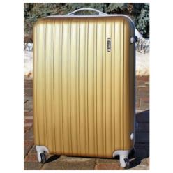 Пластиковый чемодан Ananda APL-833-GOLD Золото