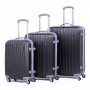 Пластиковый чемодан Ananda APL-833-BLACK ЧЕРНЫЙ