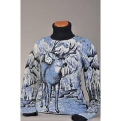 Свитер с оленями 130-06 (унисекс)