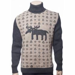 Мужской вязаный свитер 05171