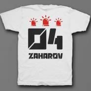 Именная футболка с футуристичным шрифтом #25