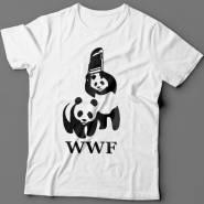 Прикольные футболки с пародией на логотип
