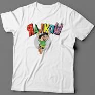"""Прикольная футболка с надписью """"Я алкаш"""""""