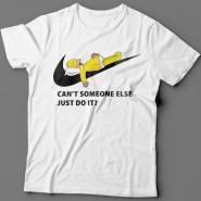 """Прикольные футболки с надписью  """"Can't someone else just do it""""."""