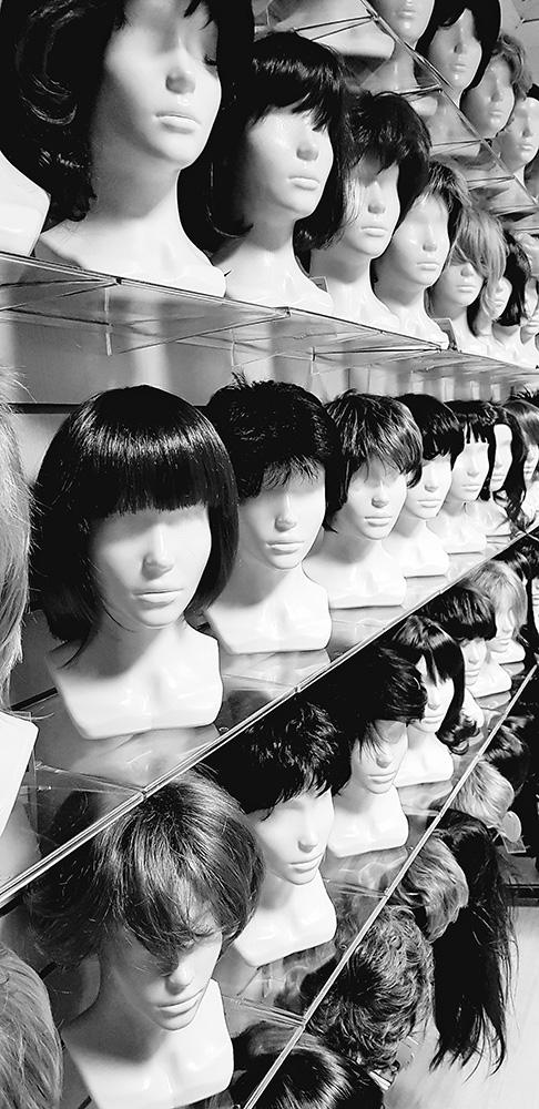 длинные натуральные парики