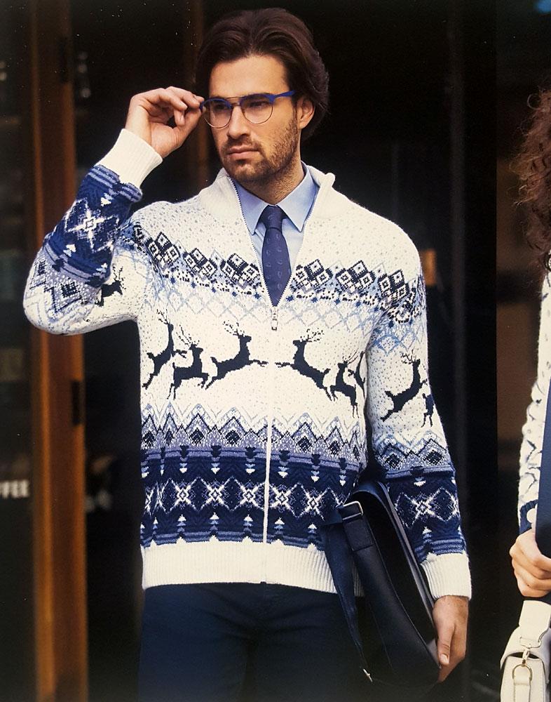 Купить свитер с оленями в интернет-магазине odimart.ru