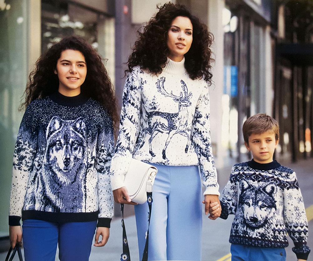 Купить свитера с оленями недорого в магазине odimart.ru