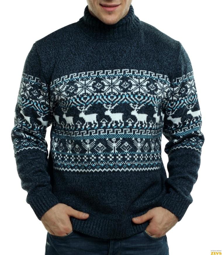 Свитера с оленями – множество моделей в магазине odimart.ru