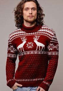 Купить свитер с оленями в Москве