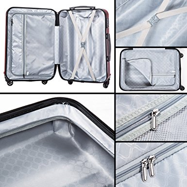 купить хороший пластиковый чемодан